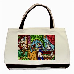 Happily Ever After 1   Beauty And The Beast Basic Tote Bag (Two Sides)