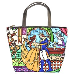 Happily Ever After 1 - Beauty and the Beast  Bucket Handbag