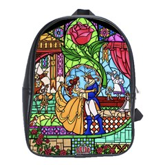 Happily Ever After 1   Beauty And The Beast School Bags(Large)