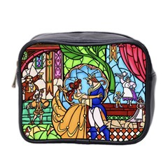 Happily Ever After 1   Beauty And The Beast Mini Toiletries Bag 2-Side