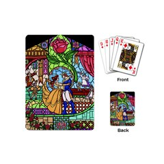 Happily Ever After 1   Beauty And The Beast Playing Cards (Mini)