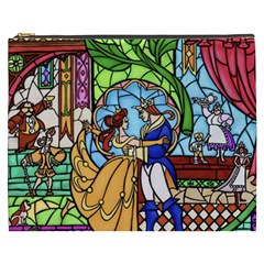 Happily Ever After 1   Beauty And The Beast Cosmetic Bag (XXXL)