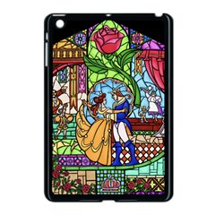 Happily Ever After 1   Beauty And The Beast Apple iPad Mini Case (Black)