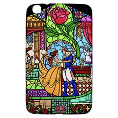 Happily Ever After 1   Beauty And The Beast Samsung Galaxy Tab 3 (8 ) T3100 Hardshell Case