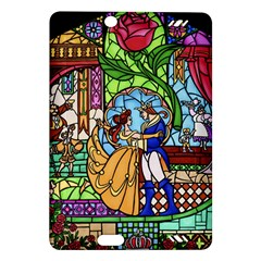 Happily Ever After 1   Beauty And The Beast Amazon Kindle Fire HD (2013) Hardshell Case