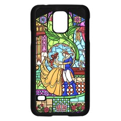 Happily Ever After 1   Beauty And The Beast Samsung Galaxy S5 Case (Black)