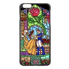 Happily Ever After 1   Beauty And The Beast Apple iPhone 6 Plus/6S Plus Black Enamel Case