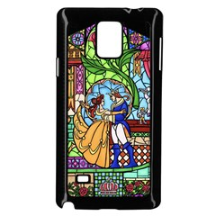 Happily Ever After 1   Beauty And The Beast Samsung Galaxy Note 4 Case (Black)