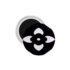 Black And White Pattern Background 1.75  Magnets