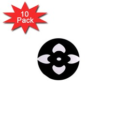 Black And White Pattern Background 1  Mini Magnet (10 pack)