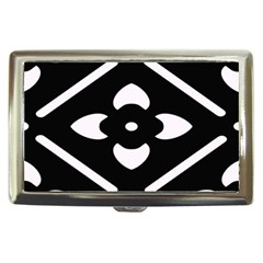 Black And White Pattern Background Cigarette Money Cases