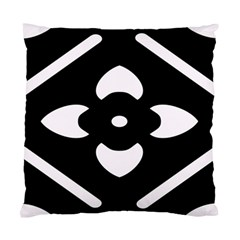 Black And White Pattern Background Standard Cushion Case (two Sides)