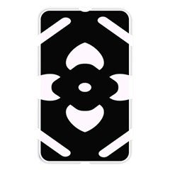 Black And White Pattern Background Memory Card Reader