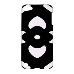 Black And White Pattern Background Apple Ipod Touch 5 Hardshell Case