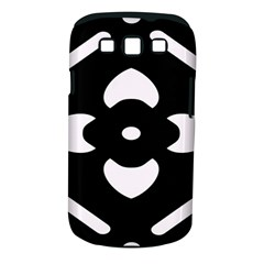Black And White Pattern Background Samsung Galaxy S Iii Classic Hardshell Case (pc+silicone)