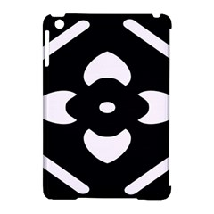 Black And White Pattern Background Apple Ipad Mini Hardshell Case (compatible With Smart Cover)