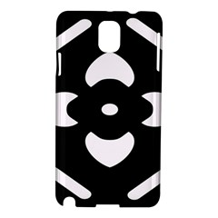 Black And White Pattern Background Samsung Galaxy Note 3 N9005 Hardshell Case
