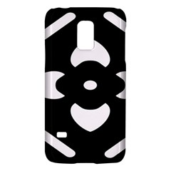 Black And White Pattern Background Galaxy S5 Mini