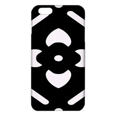Black And White Pattern Background iPhone 6 Plus/6S Plus TPU Case