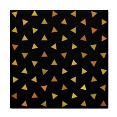 Shapes Abstract Triangles Pattern Tile Coasters