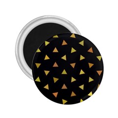 Shapes Abstract Triangles Pattern 2.25  Magnets
