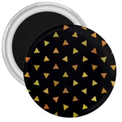 Shapes Abstract Triangles Pattern 3  Magnets