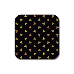Shapes Abstract Triangles Pattern Rubber Coaster (square)