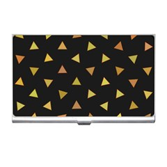 Shapes Abstract Triangles Pattern Business Card Holders