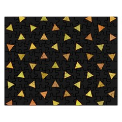 Shapes Abstract Triangles Pattern Rectangular Jigsaw Puzzl
