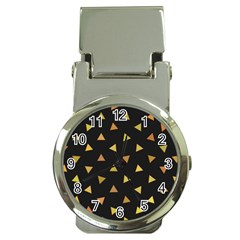Shapes Abstract Triangles Pattern Money Clip Watches