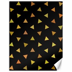 Shapes Abstract Triangles Pattern Canvas 12  X 16
