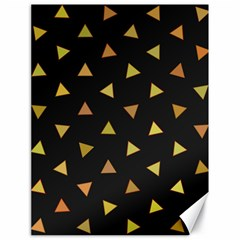 Shapes Abstract Triangles Pattern Canvas 18  x 24