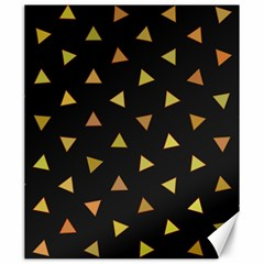 Shapes Abstract Triangles Pattern Canvas 20  X 24