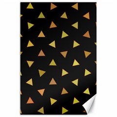 Shapes Abstract Triangles Pattern Canvas 20  x 30