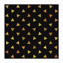 Shapes Abstract Triangles Pattern Medium Glasses Cloth (2-Side)