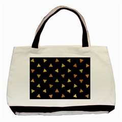Shapes Abstract Triangles Pattern Basic Tote Bag (Two Sides)