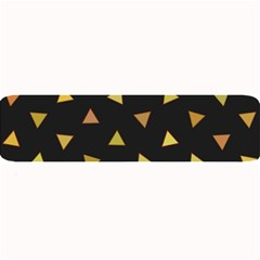 Shapes Abstract Triangles Pattern Large Bar Mats