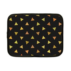 Shapes Abstract Triangles Pattern Netbook Case (Small)