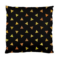 Shapes Abstract Triangles Pattern Standard Cushion Case (one Side)