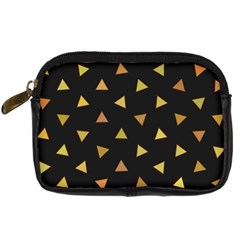 Shapes Abstract Triangles Pattern Digital Camera Cases