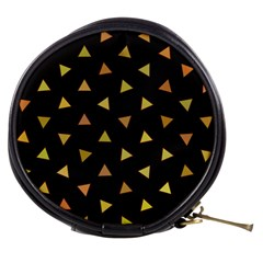 Shapes Abstract Triangles Pattern Mini Makeup Bags