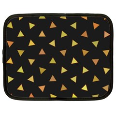 Shapes Abstract Triangles Pattern Netbook Case (xl)