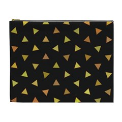 Shapes Abstract Triangles Pattern Cosmetic Bag (XL)