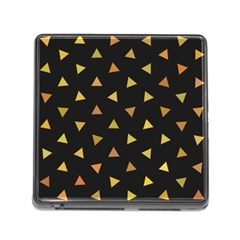 Shapes Abstract Triangles Pattern Memory Card Reader (Square)
