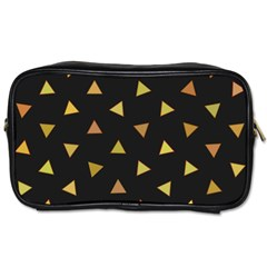 Shapes Abstract Triangles Pattern Toiletries Bags 2-Side
