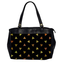 Shapes Abstract Triangles Pattern Office Handbags