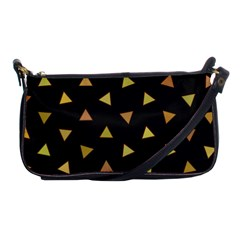 Shapes Abstract Triangles Pattern Shoulder Clutch Bags