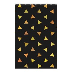Shapes Abstract Triangles Pattern Shower Curtain 48  x 72  (Small)