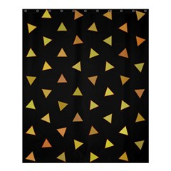 Shapes Abstract Triangles Pattern Shower Curtain 60  X 72  (medium)