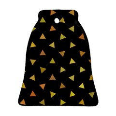 Shapes Abstract Triangles Pattern Ornament (Bell)